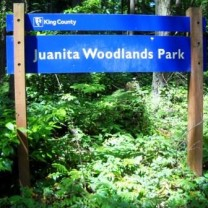 Woodlands Road Sign