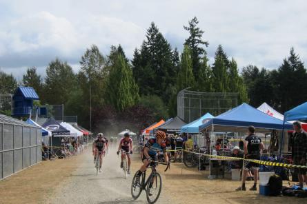 Cyclocross event at Big Finn Hill Park