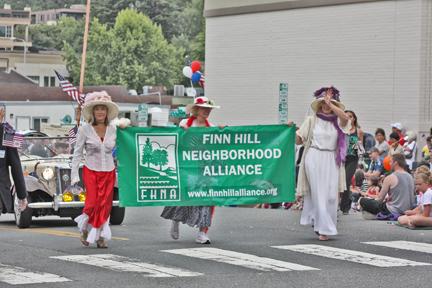 banner at parade