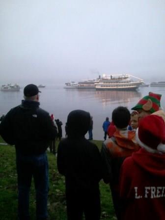 OO Denny Christmas Ships 2013