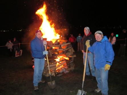 Christmas Ship Bonfire