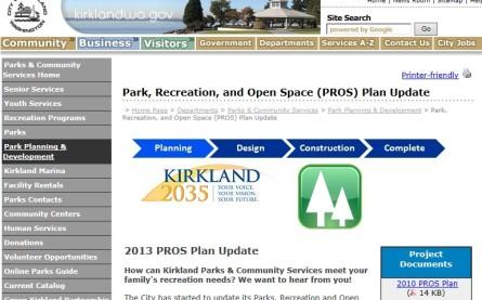 PROS web site