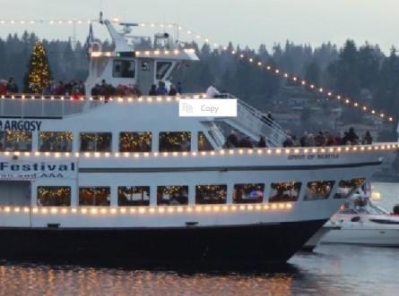 xmas ships Argosy 2014
