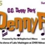 DennyFest at Kirkland's O.O. Denny Park Sunday, September 13 Noon to 4pm