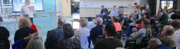 Neighborhood Meeting on Sound Transit, Cross Kirkland Corridor, St Edward Seminary Building