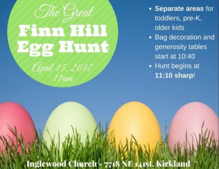 IPC egg hunt