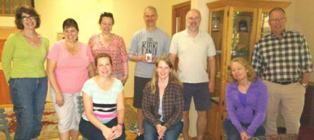 Goat Hill Neighbors May 2016 Standing left to right: Andrea Thompson, Ann DeLeon, Miriam Larson, John Ghilarducci, Ed Hunt (FHNA Board), Bill Blanchard (FHNA Board), Seated left to right: Denise Ghilarducci, Amy Mowery, Eileen Manton